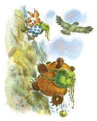 Альпинисты Винни-Пух и Пятачок