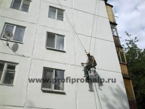 Человек паук - ремонтирует полторца за одну завеску