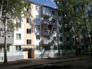 Дворовой фасад после ремонта